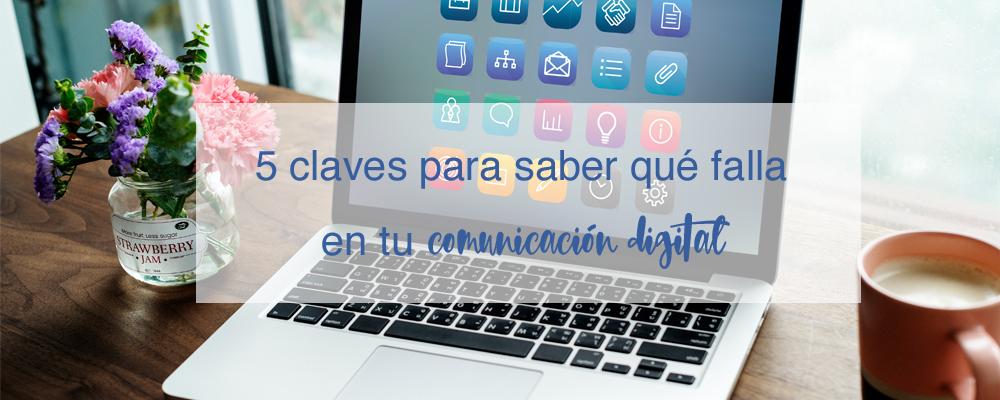 claves fallos comunicación digital
