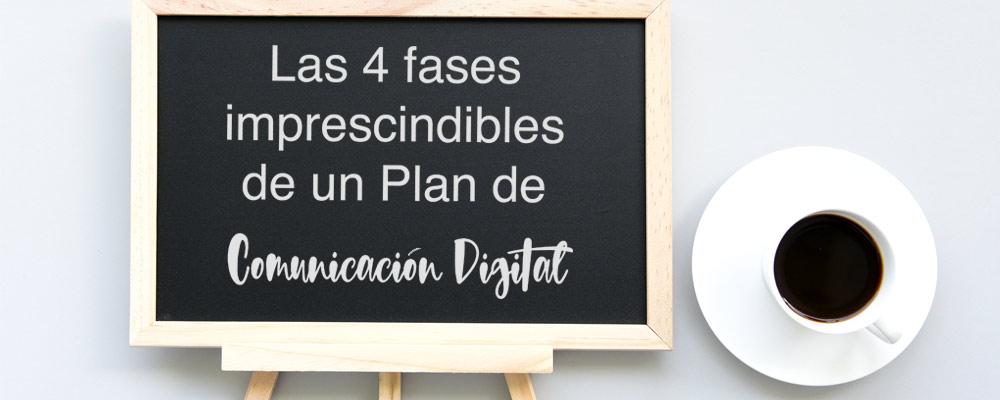 fases de un plan de comunciación digital