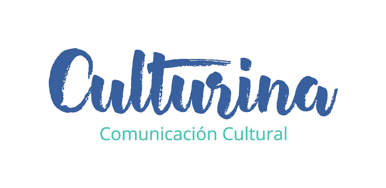 Logotipo culturina comunicación proyecto emprendimiento cultural
