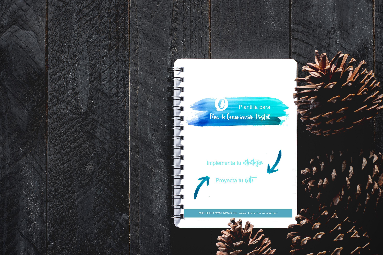 recurso gratuito plantilla plan de comunicación digital