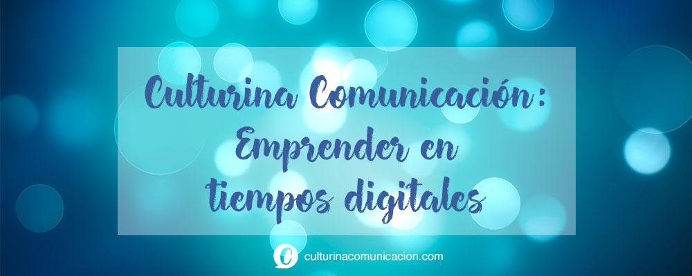 Proyecto emprendimiento cultural culturina comunicación