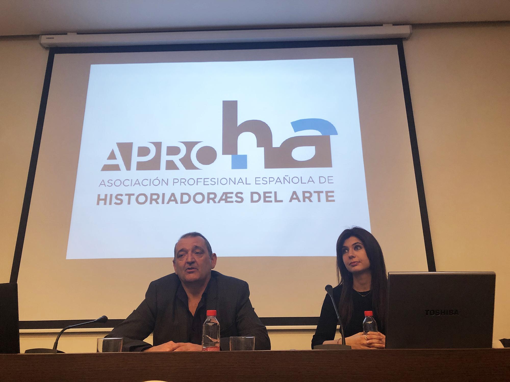 Jornadas sobre historia del arte, aproha, culturina comunicación