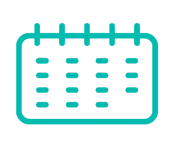 Icono calendario , culturina comunicacion