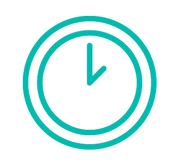 Icono reloj, culturina comunicación