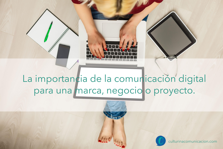 La importancai de la comunicación digital para un negocio, culturina comunicación