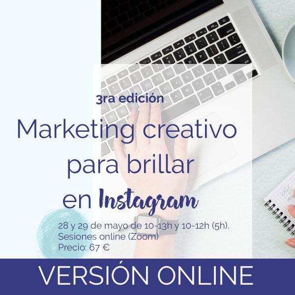 taller marketing creativo instagram, culturina comunicación