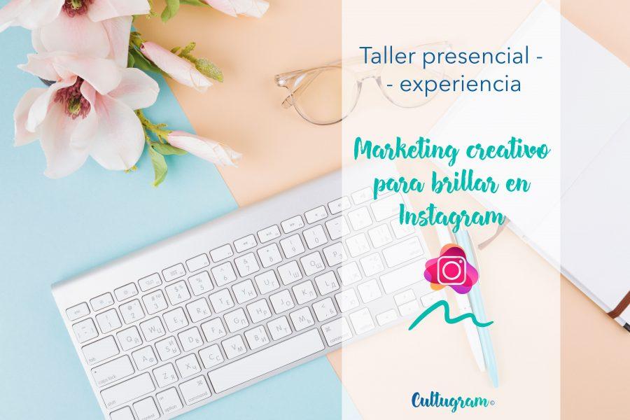 taller marketing creativo instagram, cutlurina comunicación